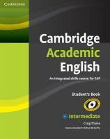 Фото книги Cambridge Academic English B1+ Intermediate Student's Book