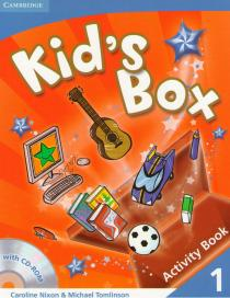 Kid's Box 1: Activity Book+CD