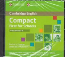 Cambridge English Compact First (FCE) for Schools : Class Audio CD